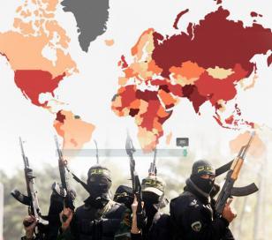Cuales son los países donde más se ejerce el terrorismo