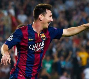 Nuevo récord de Messi