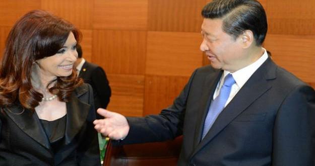 Cristina Kirchner recibió una carta de su colega de China,Xi Jinping