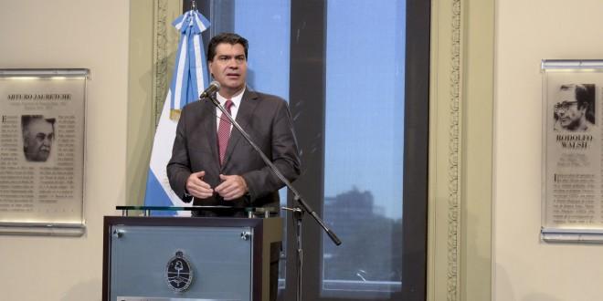 Capitanich informó que se invirtieron $ 3.000 millones en obras hídricas en el conurbano bonaerense