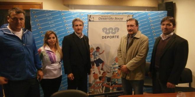 Desarrollo social fortalece el trabajo de instituciones deportivas en Pinamar