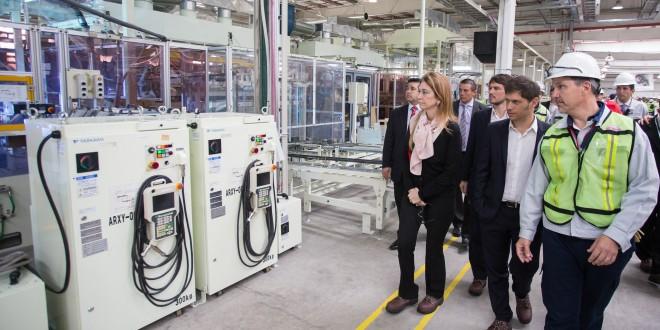 """Kicillof: """"El objetivo es darle sostenibilidad a la industria"""""""