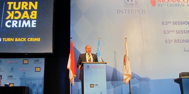 Sergio Berni elegido para el Comité Ejecutivo de Interpol