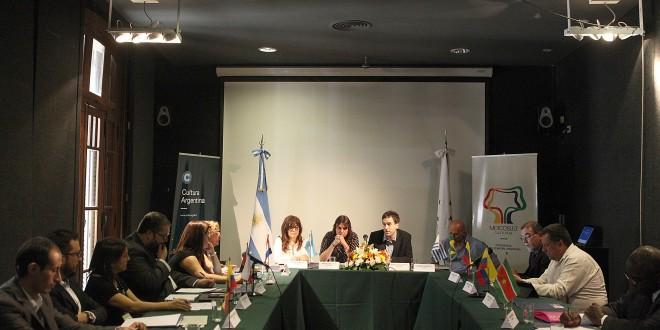 El Mercosur Cultural se reunió en Buenos Aires
