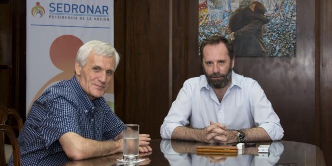 Molina se reunió con el secretario de la CGT, Antonio Caló