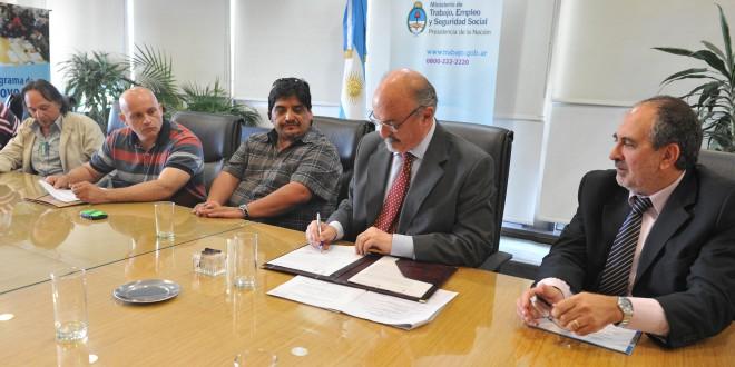 Convenio para formación sindical en Bahía Blanca