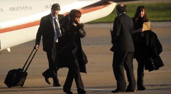 Cristina de Kirchner se instaló en El Calafate para pasar el fin de semana largo