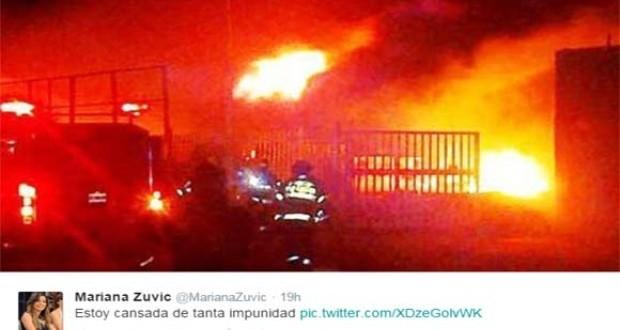 Máximo K ordenó incendiar el supermercado de un opositor ?