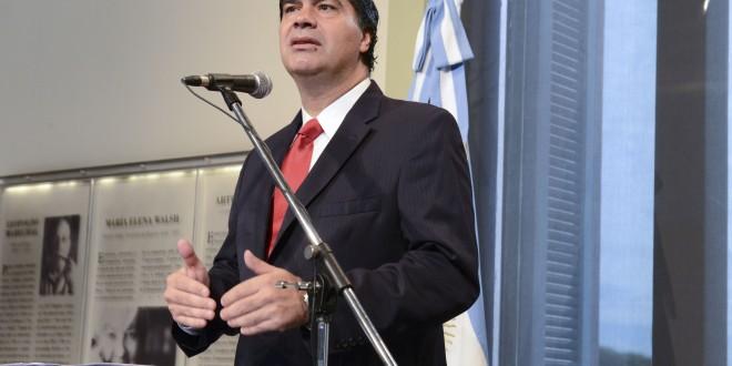 Capitanich: En 2015 la expansión del empleo será significativa, de la mano de la construcción y del sector automotriz