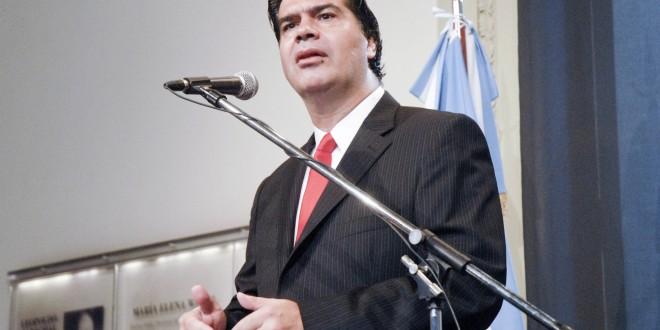 """Jorge Capitanich: Los cambios en el Gabinete responden a que """"se va rotando parte del equipo en virtud de la agenda de la Presidenta"""""""