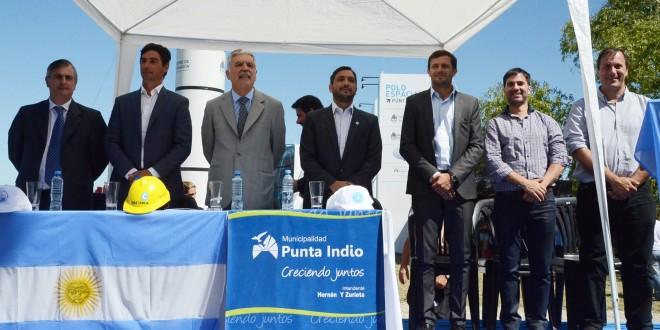 Inauguración del Polo Espacial Punta Indio