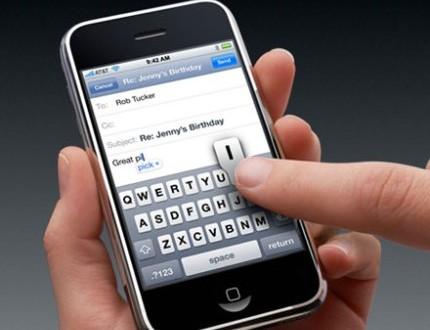 Trucos para escribir más rápido con pantalla táctil