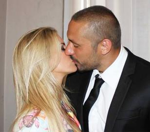 Se casan Alejandra Maglietti y Jonás Gutiérrez
