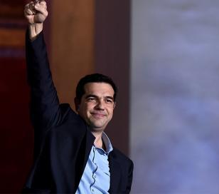 Ganó la izquierda en Grecia y tendrá mayoría absoluta