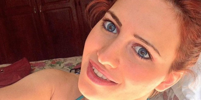 Annalisa Santi sin maquillaje