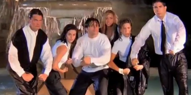 "Video: El inicio de ""Friends"" sin música con el audio original"