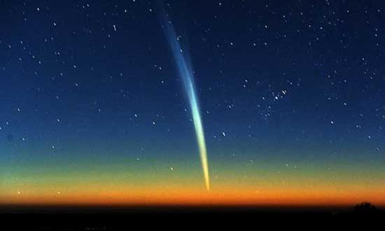 El cometa Lovejoy será visible todo enero
