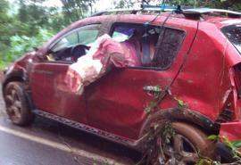 Se habian salvado de un accidente en una ruta de Brasil, y las mata un auto cuando pedían ayuda