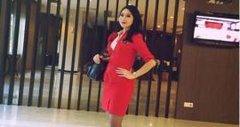 La foto que le dedicó una azafata de AirAsia a su novio momentos antes de morir