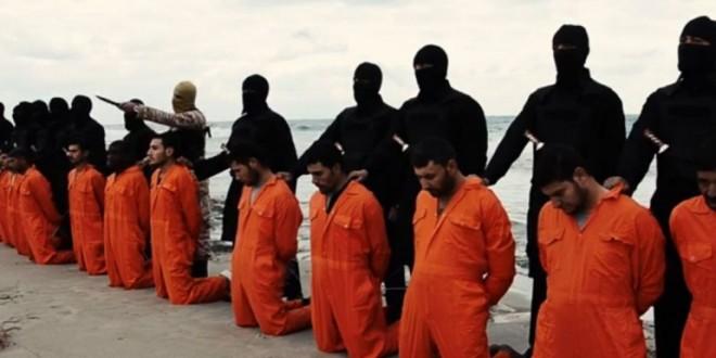 ISIS difundió la decapitación de 21 rehenes egipcios en Libia