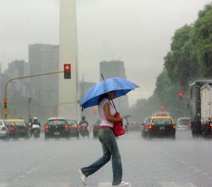 Alerta meteorológica para cuatro provincias