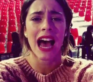 Tini Stoessel anunció el final de Violetta
