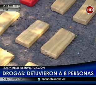 Una banda que traficaba marihuana fue desbaratada en las últimas horas en Moreno