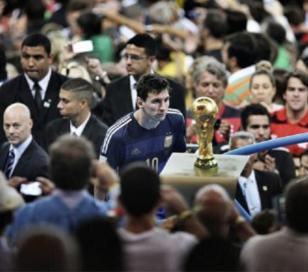 Messi en mejor foto deportiva del 2014