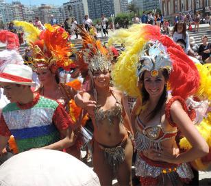 Feriados de Carnaval: la Costa está más llena que en enero