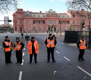 """Marcha del #18F: """"La policía Federal y la Metropolitana van a estar desarmadas"""""""