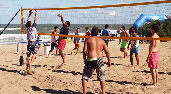 Actividades deportivas y culturales en Villa Gesell
