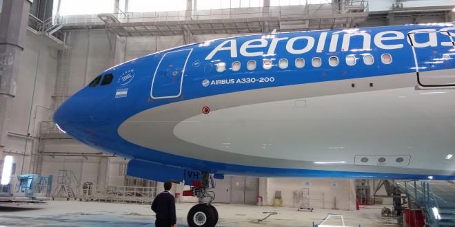Aerolíneas Argentinas recibirá el primer Airbus A-330/200