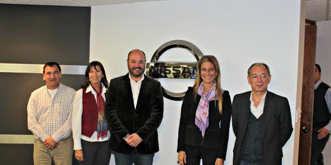 Giorgi se reunió en México con directivos de Nissan