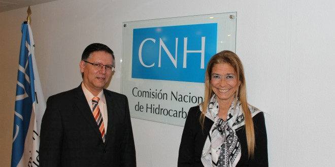 Giorgi anunció que avanzó en México en acuerdos de complementación con los sectores de gas, petróleo y GNC