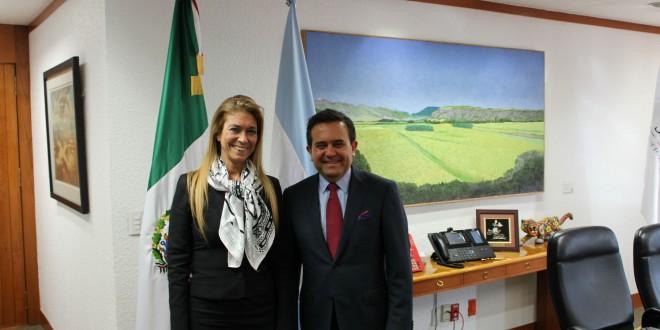 Giorgi se reunió en México con el secretario de Economía
