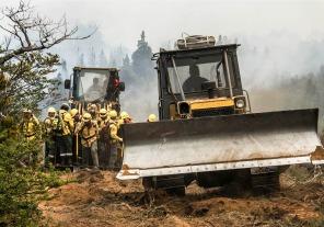 Incendios en Chubut: hay perspectivas favorables