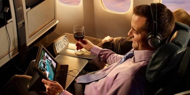 Aerolíneas europeas compiten por ofrecer WiFi