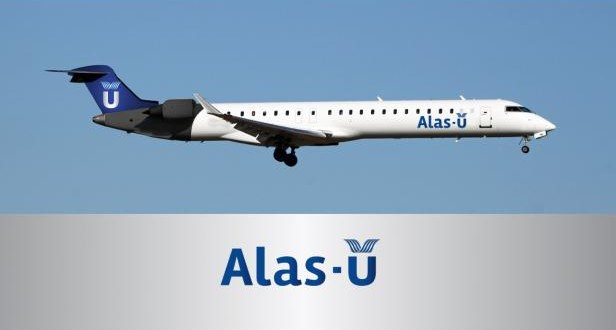Llega el primer avión de Alas Uruguay