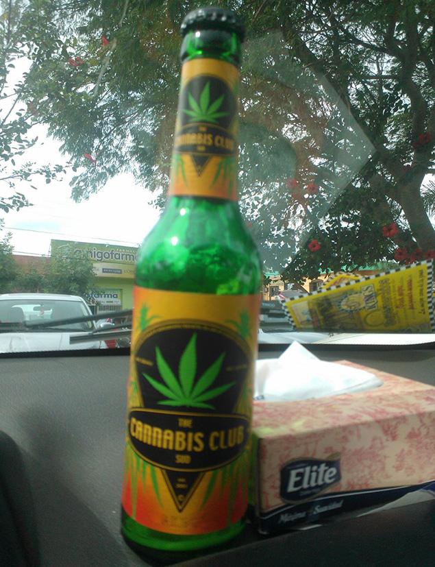 Cerveza con aroma a cannabis
