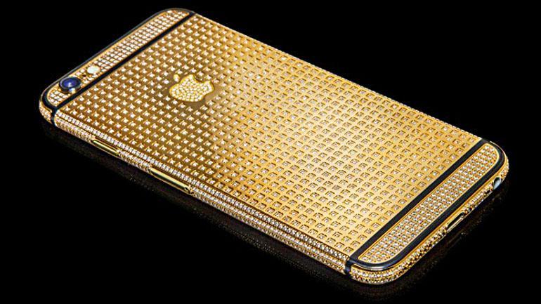 """""""Diamond Ecstasy"""", el iPhone 6 con joyas y oro cuesta u$s 3,5 millones"""