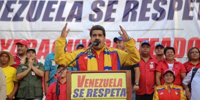 """Maduro en cadena nacional: """"¡Yanquis del carajo respeten nuestra patria!"""""""