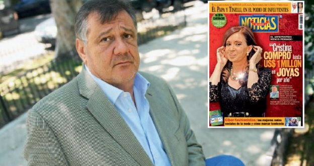 El exjoyero de Cristina Kirchner huye a Estados Unidos