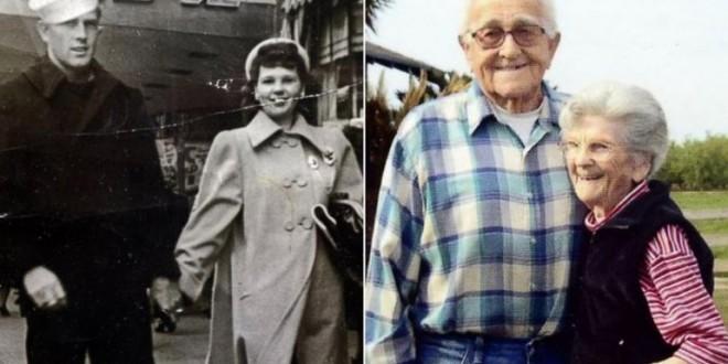 67 años casados y murieron tomados de la mano