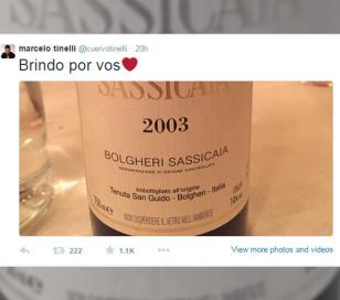 El misterioso tuit de Marcelo Tinelli