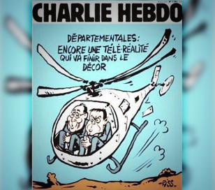 La tragedia de La Rioja es tapa de Charlie Hebdo