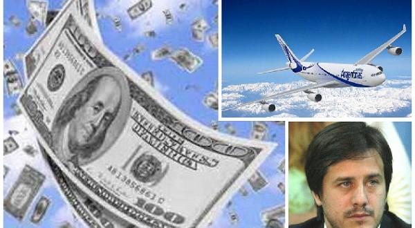 Aerolíneas Argentinas ya pierde  US$ 1millón por día