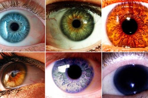 Los colores de ojos menos comunes en los humanos
