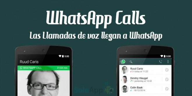 Como activar las llamadas de WhatsApp