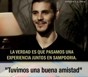 Mauro Icardi burla a Maxi López en una entrevista por TV