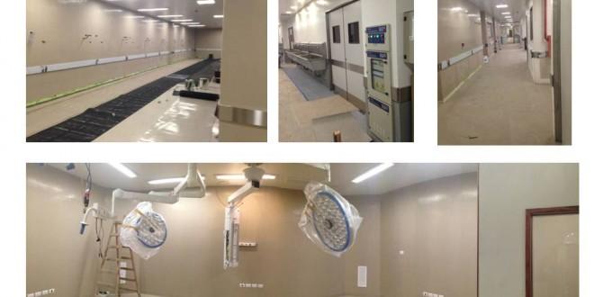 Obras para ampliar el hospital Posadas